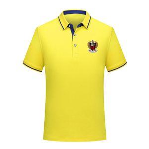 2020 OGC Nice marka prim yeni erkek POLO gömlek zarif yaka spor emici futbol gündelik kısa kollu POLO gömlek monte ter