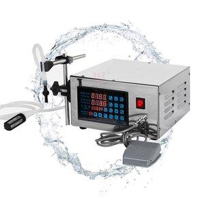 Automatische Digital Control Pump flüssige Füllmaschine für Flüssigkeit Parfüm Wasser-Saft-Ätherisches Öl-Füllmaschine