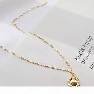 gioielli di lusso in argento sterling S925 smalto ciondolo color oro per le donne gioielli moda femminile caldo