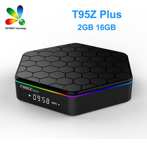 T95Z Plus 2 GB / 16 GB Amlogic S912 Octa Core Android 7.1 TV CAJA 2.4G / 5 GHz Wi-Fi BT4.0 4K Set Top Box