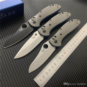 """BenchMade BM550 Овца из овец Griptilian BM481 Клинок ножа Складной CPM-20CV Нож S30V Простые оси Серый G10 3.45 """"550-1 BM42 Ручки C81 S CUFP"""