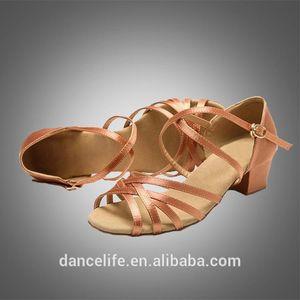 chaussures de danse Livraison gratuite S5559 Ballroom pour les filles / chaussures de danse en stock filles chaussures de danse latine