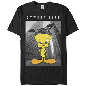 Tops Cool Summer T-shirt drôle Looney Tunes Titi Sweet Life Mens Graphic T-shirt