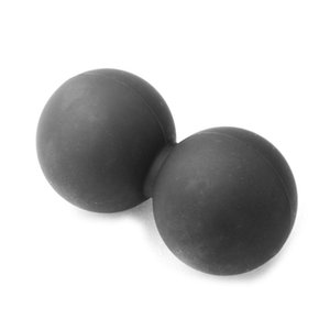 Massage arachide balle Trigger Point Body Muscle Stress Relief pour Myofascial Release (Noir)