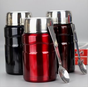 700ml Thermos for Food Large Vacuum Flasks lunch box Insulated Soup Porridge Box Outdoor Termos Coffee Mugs Thermoses Thermocup T200709