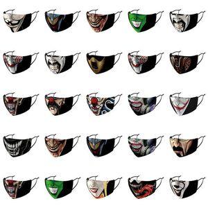 Usa ремешок регулируемый Новый Joker Нос лица ушной крышки Скидка дизайнер предложения Уиллем Дефо Дефо Маски Off Willem Usa Hot Mask Маска bfiaz