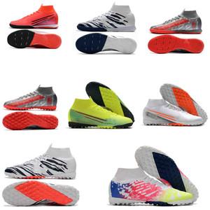 futbol krampon 6 Elite TF IC kapalı futbol ayakkabıları orijinal iyi Kramponlar SuperflyX krampon erkek Mercurial Superfly 360 7 Elite de
