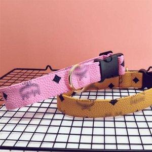 L'été dernier Pet Colliers Set High Street personnalité Animaux Collar Laisses classique imprimés La conception Laisses bichons