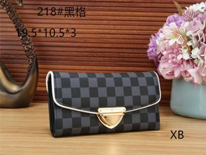 high-quality fashion women's designer handbags purse wallet long section Korean frosted wallet style coin purse factory direct sales