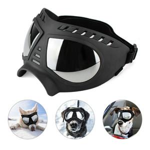 ملابس الكلب نظارات نظارات للأشعة فوق البنفسجية حماية صامد للريح Snowproof الحيوانات الأليفة العين متوسطة كبيرة سباحة الكلب نظارات JK2005KD