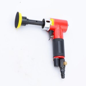 2 inch 90 degree small pneumatic sander air polisher grinding machine wind sanding tool longer spindle eccentric model