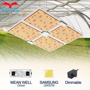 Полный спектр Samsung водить растет свет 1000W / 2000W / 4000W квантовой доску с LM301B 234Pcs 3000K Чипсами и водителем UL MEANWELL