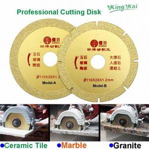 110 millimetri diamante disco abrasivo Angle Grinder Cuting Wheel WJ2m #