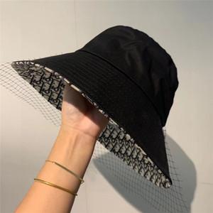 Mode Eimer Hüte für Männer Frauen Stingy Krempe Kappe faltbar Hüte atmungsaktiv casquette 2020 Sonnenschirme beiläufigen Fischers neuen Stils