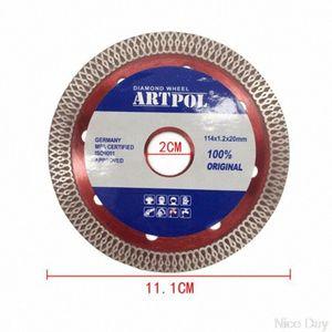 Ultra-mince scie à diamant en céramique Lame Roue Porcelaine coupe à sec Grinder disque MY07 20 Dropship C2U2 #