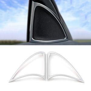 메르세데스 - 벤츠 E 클래스 W213 2,016에서 2,020 사이에 자동차 액세서리 전면 오디오 사운드 트림 스티커 스피커 커버 프레임 인테리어 장식