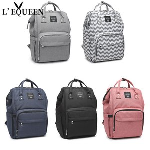 LEQUEEN High Capacity Nappy Backpack Diaper Bag Baby Care Backpack For Mom Mummy Maternity Wet Bag Waterproof Baby Pregnant