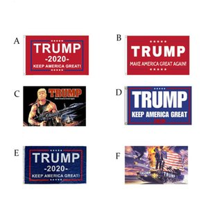 Hot Fashion Trump 2020 Flag 90*150CM Classic Donald Keep America Great Digital Print USA Banner Home Party Decor SN1258