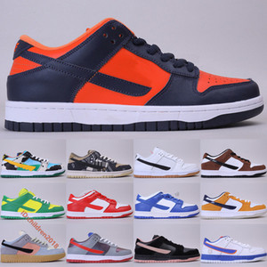 SB Dunk Low Sneakers For Mens Womens Designer Champ Colors Kentucky Laser Orange Spectrum Wolf Grey Skateboard Shoes Size 5.5-11