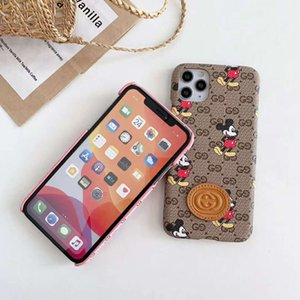 Le plus récent Cartoon Phone Case pour iPhone 11 Pro Xs Max XR 8 7 plus iPhone11 Couverture arrière Defender Cases Shell