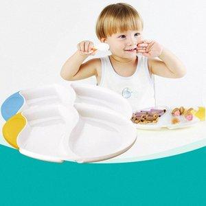 Новое прибытие Детские вскармливание Тарелка Дети Easy Возьмитесь Обучение Посуда Латы BPA Free Children ужин Free Shipping 2hlu #