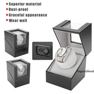 Automatic Rotating Watch Display Box wedding necklace Electric Motor Single PU Watch Winder Holder smart Watch Winder Jewellery Storage Case