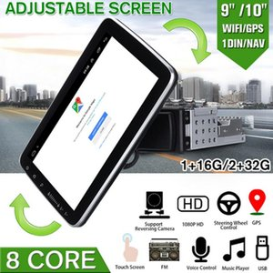 1 din Car Multimedia Player Android 9.1 Autoradio Stereo 10 Inch Touch Screen Video GPS WiFi MP5 Player Auto Radio Backup Camera car dvd