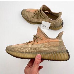 2020 Kanye West обувь Сера Исрафил Абези Eliada Tie-краситель Transparent Отражающий Мужчины Женщины Лучшие кроссовки Cloud White Zebra Бред кроссовки