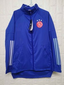 2020 sweat à capuche veste coupe-vent ajax survêtement maillots de football hoodies actifs coupe-vent sport de football manteau d'hiver Vestes d'homme