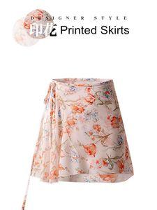 One-Piece Skirt ginnastica balletto del tulipano stampato Gauzy vestito da ballo Adulto Donne Gonne Le ragazze Dancewear figura Dress Pattinaggio