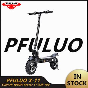2020 Nuovo PFULUO X-11 intelligente elettrico del motorino 1000W motore 11 pollici 2 di bordo hoverboard skate 50 kmh Velocità max fuori strada