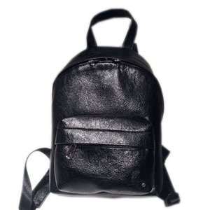 Men and women backpacks shoulder bags purse handbags first layer cowhide with waterproof zipper space spacious and large 20*30cm