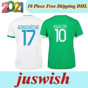 20 21 maillot como Santos de Etienne 20 camisetas de fútbol 2021 maillot ASSE Etienne Khazri camisas CABELLA Beric NORDIN Hamouma Fútbol equipos