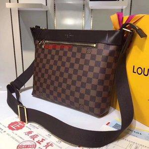 #9575 Brand 5A L MICK PM V Men Cross Body Bags Fashion Messenger Bag Male Crossbody Clutches Evening Man Shoulder Belt Bag 40003
