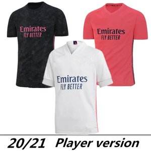 Player Version Real Madrid 2020 #7 HAZARD #9 BENZEMA home Soccer Jerseys 20 21 Men player version Football Shirts Uniforms On sale
