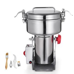 Acero inoxidable nuevo 2000G de acero inoxidable Mini Comercial de molino de granos Grinder / Rectificadora de grano / molinillo de cereales
