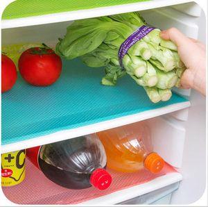 Refrigerator anti-fouling mat Refrigerator mat Anti-bacterial Cuttable Refrigerator Mat Table mats drawer mats 4pcs one lot A06