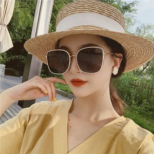 2020 UV Protection New coreano Style Sunglasses Womens Via Bianco Fashion Box viso tondo occhiali da sole polarizzati Bibi