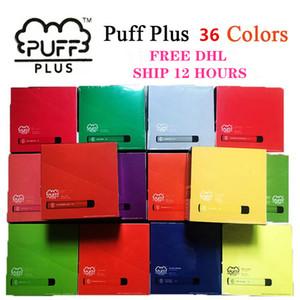 2020 Datum Puff bar plus Einwegvorrichtung empty Pod Starter Kit 550mAh Akku 3,2 ml Patrone Vape 8 Farbe VS xtra Upgraded puff