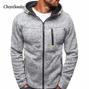 Brand ChoynSunday Man Hot Homens Zipper Camisola Hoodies Dos Homens de Inverno Com Capuz Masculino Moletom Com Capuz Cardigan