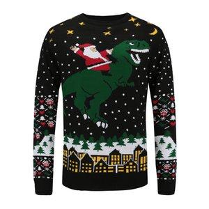 couple Hot sale unisexe lâche designer pull-over pull en tricot de Noël personnalisés laid chandail noël