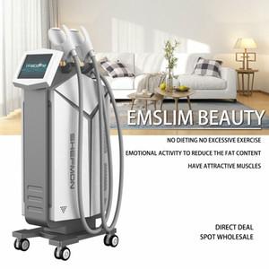 Muscle Emslim Dispositivo de Redução de gordura Hi-Emt eletromagnética desenvolvimento de Firmer Fortalecimento Abdomen, tonificação, endurecimento das nádegas