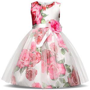Princess Baby Girls Party Dress Christmas Gift New Fashion Kids Clothes Wedding Bridesmaid Formal Girls Clothing Graduation Prom