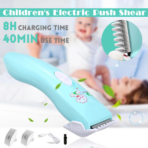 Baby Hair Clipper Electric USB Rechargeable Waterproof Quiet Trimmer Shaver Hair Cutting Thinning Scissor Shears Set