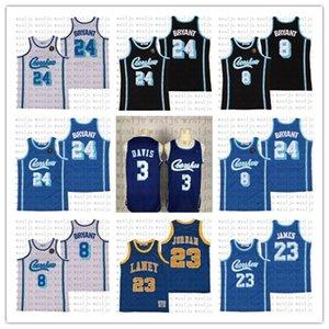 Cheap Customized James Uomo 23 Davis 3 pallacanestro Jersey esterna confortevole e traspirante Sport Crenshaw Jersey
