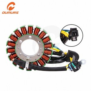 OUMURS Motorcycle Generator Magneto Stator Coil For AN250 Burgman 250 AN400 Burgman 400 03-06 Replace Part 32101-14G00 aFs1#