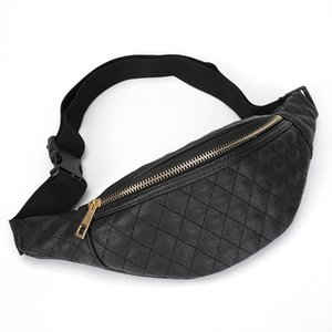 2020 New Style Women's Waist Bag European And American Casual Women's Bag Quilted Plaid Diagonal Chest Fashion