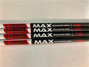 10PCS KBS MAX 골프 아이언과 웨지 무료 배송 65/75/85 흑연 샤프트 블랙 KBS MAX 골프 흑연 샤프트