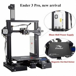 3D Ender-3 Pro Drucker 3D verbesserte Magnetische Bauen Platte Lebenslauf Stromausfall Druck DIY KIT Mean Well Netzteil G6LI #
