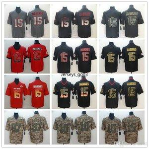 Mens KansasCityChiefsnfc15 Patrick Mahomes 87 Travis Kelce 10 Tyreek Hill Black Golden Edition City Fashion Football Jerseys